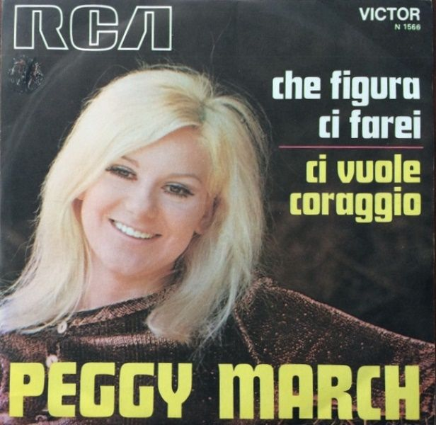 "Peggy March (born Margaret Annemarie Battavio, March 8, 1948, Lansdale, Pennsylvania) is an American pop singer. She is primarily known for her 1963 million-selling song ""I Will Follow Him"". Although she is sometimes remembered as a one-hit wonder, she continued to have success in Europe well into the 1970s."
