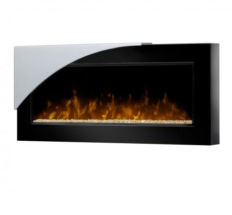 The Mystic is a wall-mounted fire display with a bold visual twist.