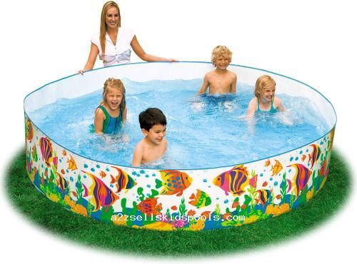Cheap plastic pool always a good time until it busts for Good cheap pools