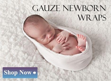 Gauze Newborn wraps