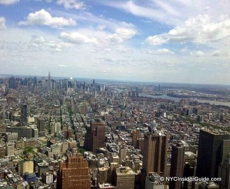 Visiting One World Observatory NYC at One World Trade Center NYC. Tickets, Info and Insider Tips. 100-102 floors, skyline views, newest skyscraper, downtown