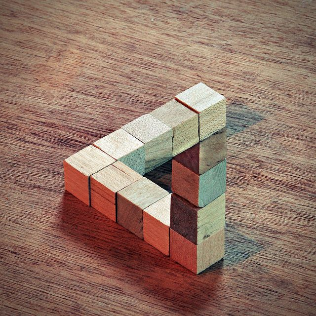 Penrose Triangle by gfpeck, via Flickr