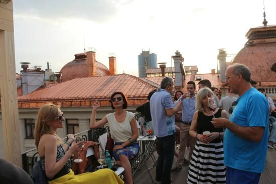 the opening of the bar - Picture of Pura Vida Sky Bar & Hostel ...