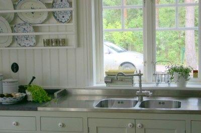 Image result for fönster över diskbänk