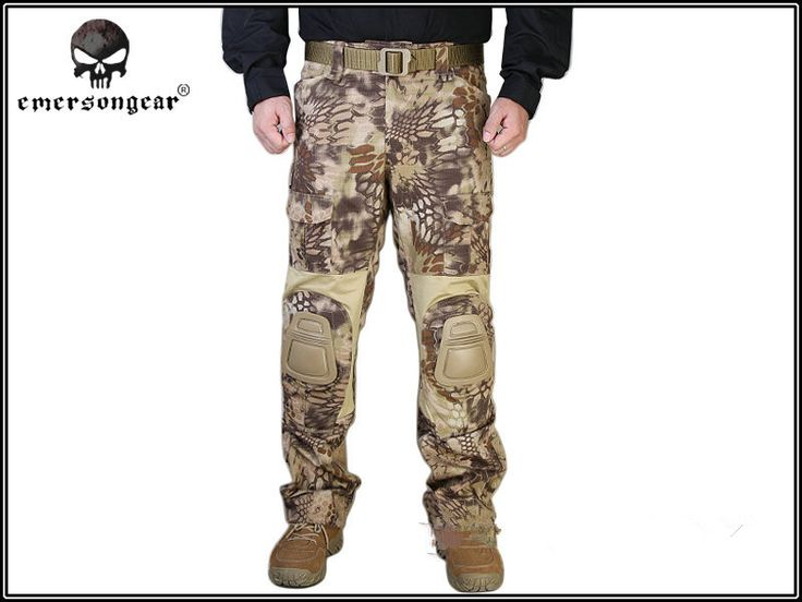 Emersongear Men Camping Trousers With Kneepad Cycling Hunting Pants Outdoor Sports Hiking Mountain Climbing Long Trouser