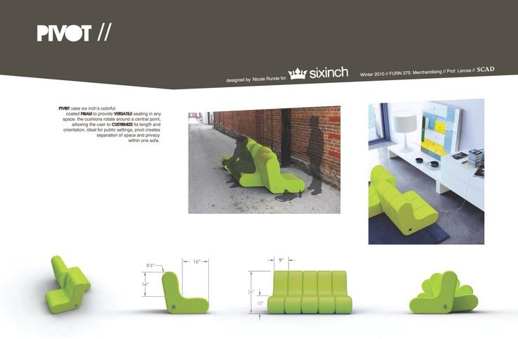 PIVOT: Modular Foam Sofa   Bonus Room Ideas   Pinterest   Bonus Rooms,  Furniture Ideas And Room Ideas