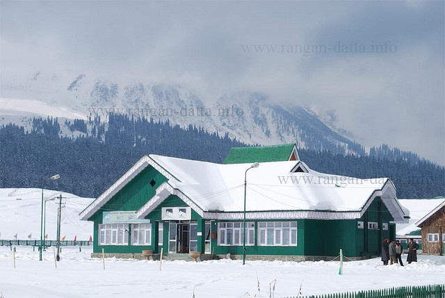 Jammu & Kashmir Tourism office, Gulmarg