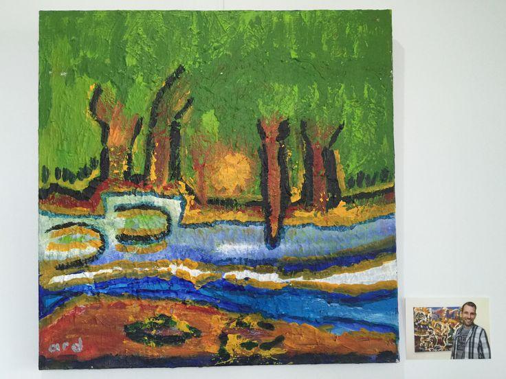 """""""Bomen""""- S&L Zorg: Kunstsjop - Kunstatelier voor mensen met een verstandelijke beperking"""