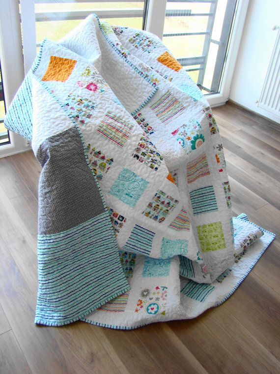 Best 25+ Turquoise quilt ideas on Pinterest | Baby quilt patterns ... : turquoise twin quilt - Adamdwight.com