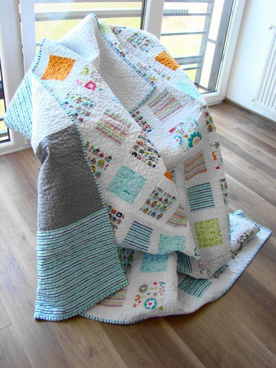 Best 25+ Custom quilts ideas on Pinterest | Machine quilting ... : turquoise twin quilt - Adamdwight.com