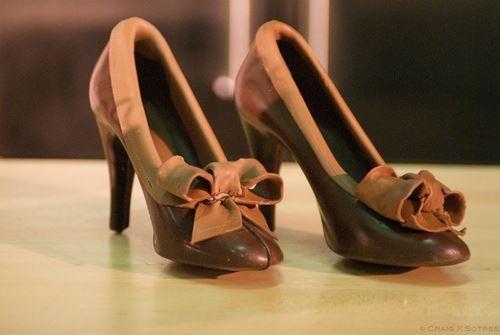 ¿Quién se pondría estos zapatos? ¿Son coquetos, no? ¡Siempre y cuando no sea un día de mucho calor!