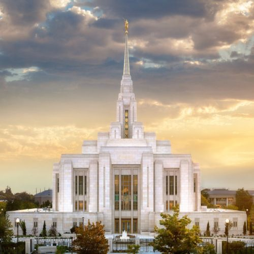 ogden-utah-temple-sunset-west I WOULD LOVE TO HAVE A NICE PICTURE OF THE OGDEN TEMPLE!