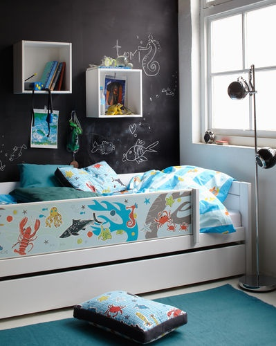 kids bed with drawers (unisex) WATERWORLD LIFE TIME