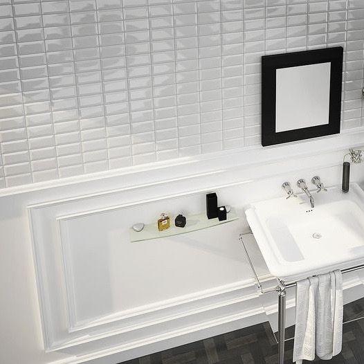 Meer dan 1000 idee n over metrotegels op pinterest keukens badkamer en kasten - Keuken tegel metro ...