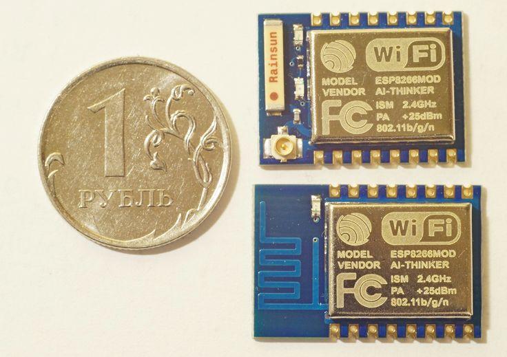 Миниатюрные WiFi модули ESP8266 довольно привлекательны для систем умного дома и домашней автоматизации. Их еще называют «убийцами NRF24L01». Здесь уже был обзор этого модуля  Я себе заказал более поздние модификации ...