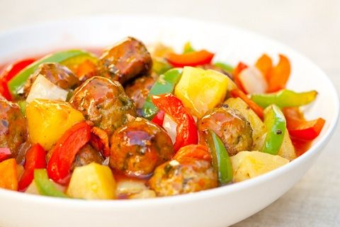 ... sweet and sour chicken the best sweet and sour meatballs recipe yummly