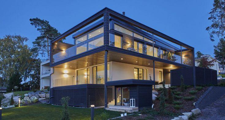 Log house Villa Nuottakallio Finland [1500×800] – …