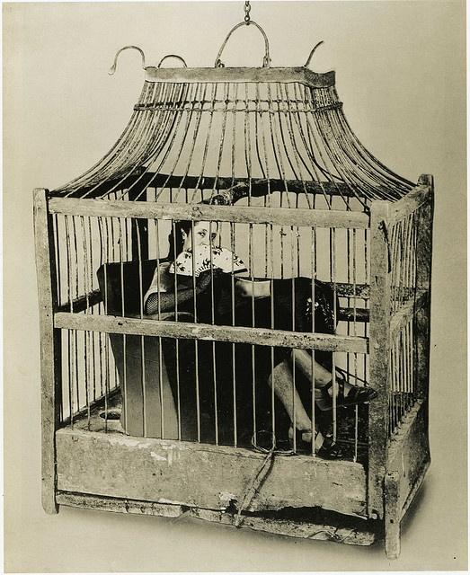 """Grete Stern. """"Dream no. 45, untitled, photomontage"""", 1949"""