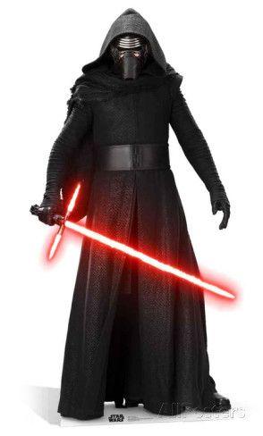 Star Wars Episode VII: The Force Awakens - Kylo Ren Cardboard Cutouts