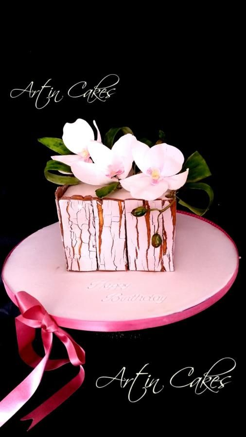 Phalaenopsis cake by Shree