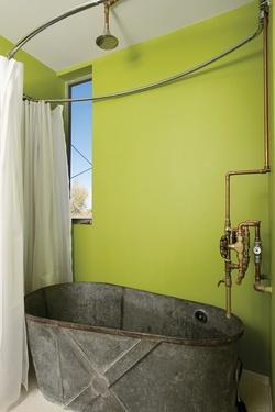 Amazing Old Galvanized Tub