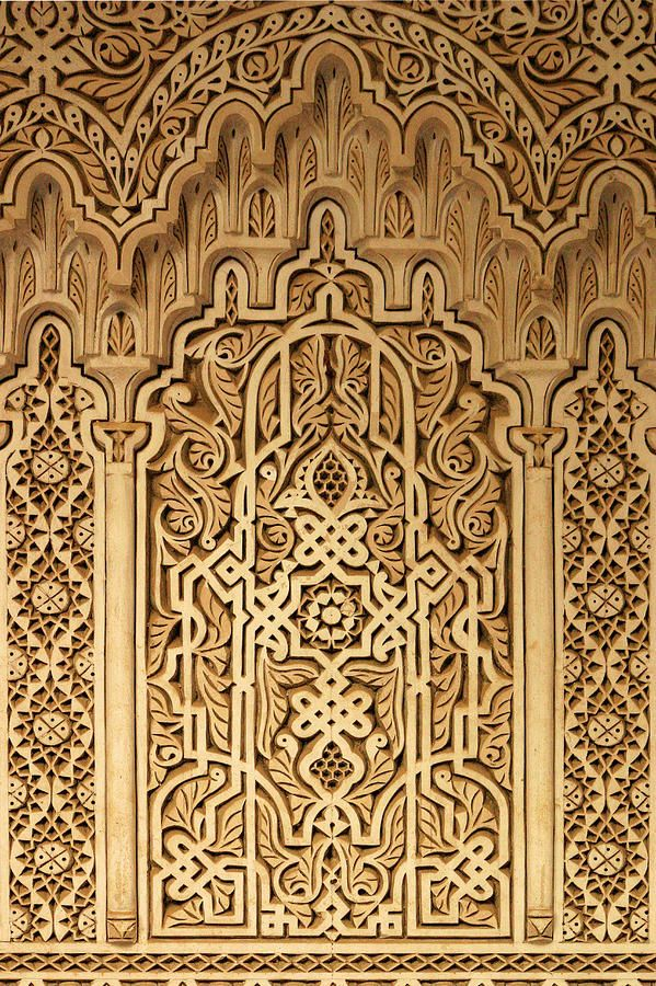 Islamic Plaster Work Photograph  - Islamic Plaster Work Fine Art Print