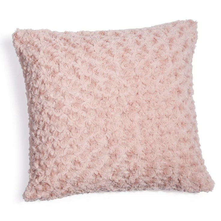 Coussin rose lilas