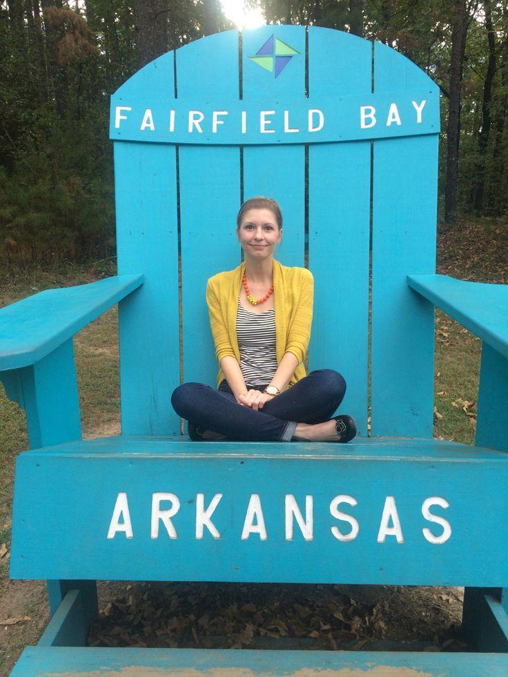Sittin' pretty in Fairfield Bay. #VisitArkansas #NorthCentralArkansas