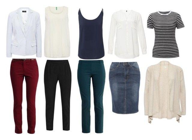 Базовый гардероб by lokidar on Polyvore featuring мода, BlendShe and Vero Moda