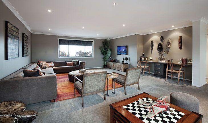 bayliss rug - luster washed russet tones - at porter davis display home