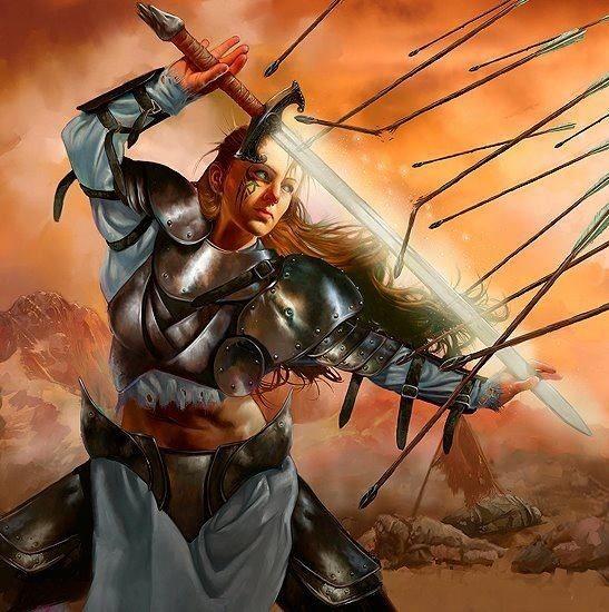 Christian Prophetic Art God's Warriors