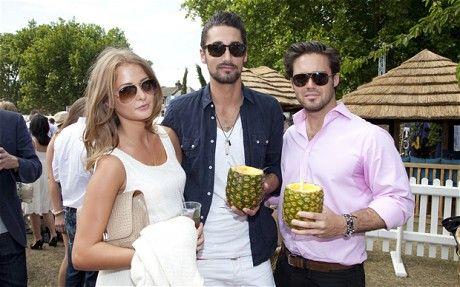 Millie, Hugo and Spencer