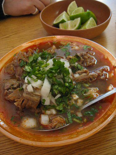 Birria is a spicy Mexican meat stew often served during festive periods, such as Christmas, New Year's Eve, Mother's Day, and weddings.