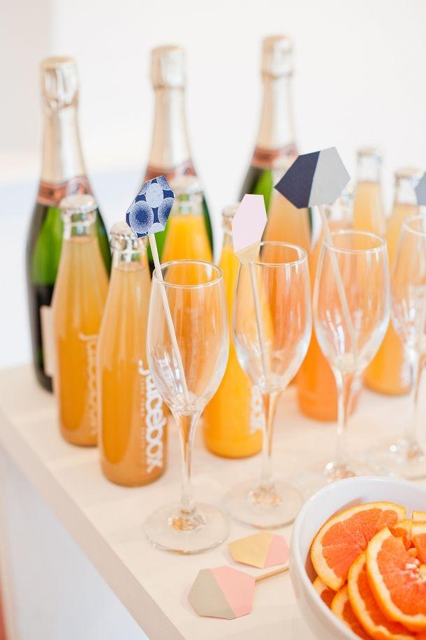 Rose Quartz by Yolande Snyders & Yellow Papaya | SouthBound Bride #mimosabar #wedding