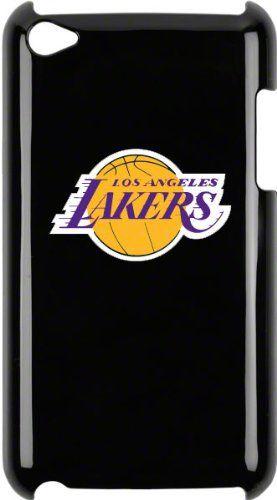 Tribeca  FVA4614 Varsity Jacket Solo Shell for iPod Touch 4G, Los Angeles Lakers - Black Varsity Jacket - iPod Touch Solo Shell - 4th Gen - Los Angeles Lakers - Black