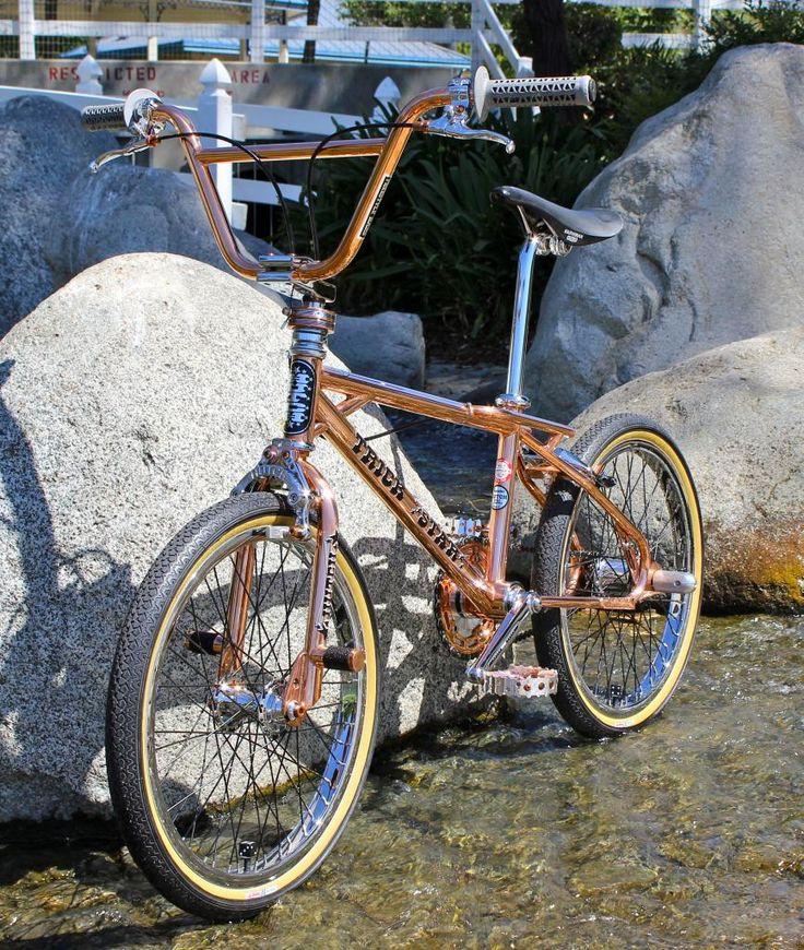 copper plated show bike HUTCH TRICKSTAR