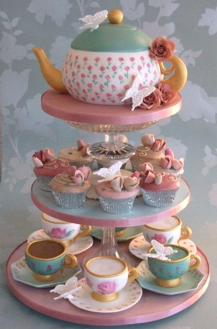 epic is what im going to say, add some more cupcakes, make the teapot a bit bigger and this would be perfect
