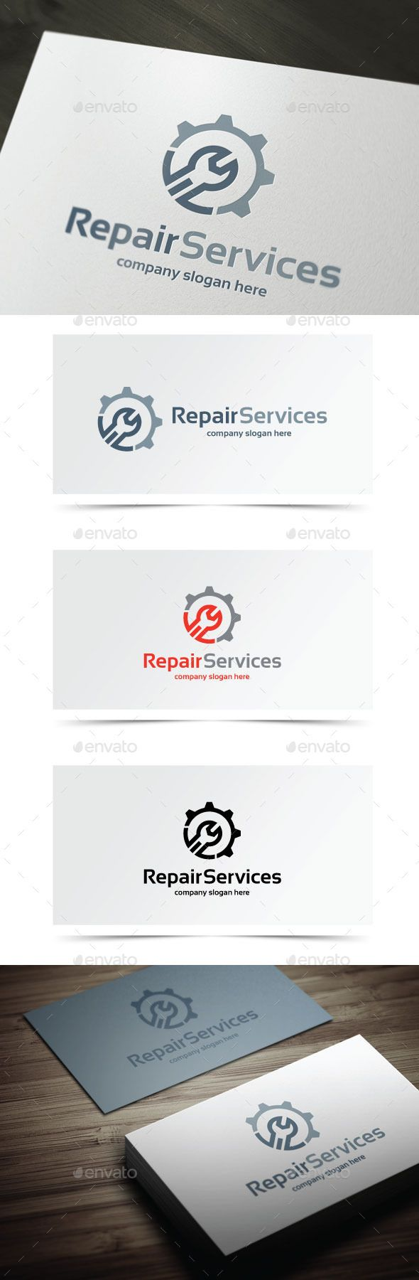 Repair Services — Photoshop PSD #electrical #construction • Available here → https://graphicriver.net/item/repair-services/10406740?ref=pxcr