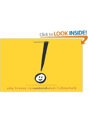 Exclamation Mark: Amy Krouse Rosenthal, Tom Lichtenheld: 9780545436793: Amazon.com: Books