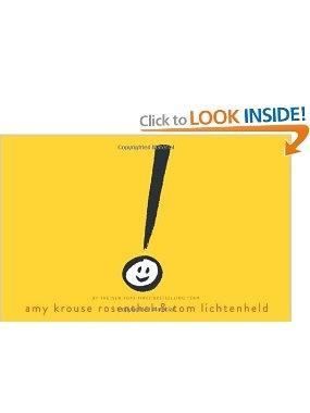 Exclamation Mark: Amy Krouse Rosenthal, Tom Lichtenheld: 9780545436793: Amazon.com: Books