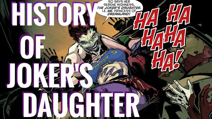 HISTORY OF JOKER'S DAUGHTER (Duela Dent) | EXPLORING COMICS - YouTube