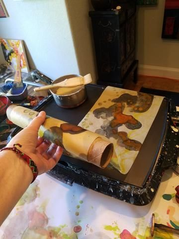 Paper and encaustic medium make interesting and beautiful partners when combined. There are numerous ways to work with encaustic medium and paper, in this post