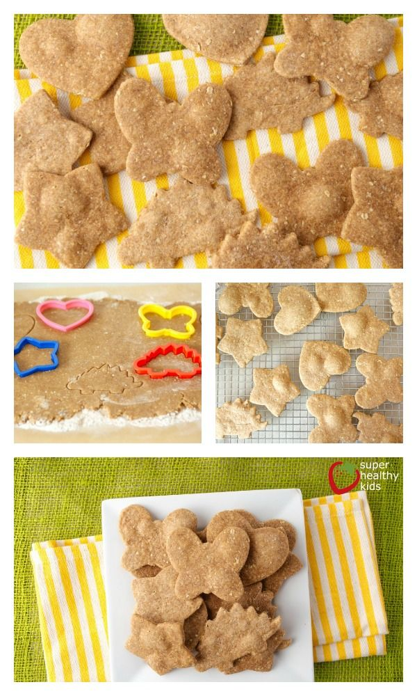 Homemade Peanut Butter Crackers - Crunchy snacking, anywhere! http://www.superhealthykids.com/homemade-peanut-butter-crackers/