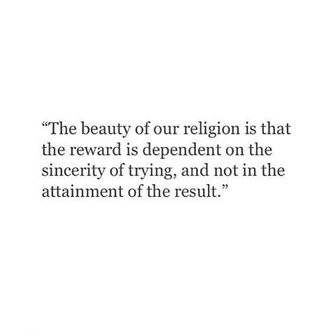 Allah SWT does not expect us to be flawless. He wants us to repent and to turn back to Him whenever we make a mistake. He is the Most Merciful and the Just. He sees the struggle in our hearts and will reward us for every single good deed. Be grateful. For our Lord loves us and forgives us whenever we repent.