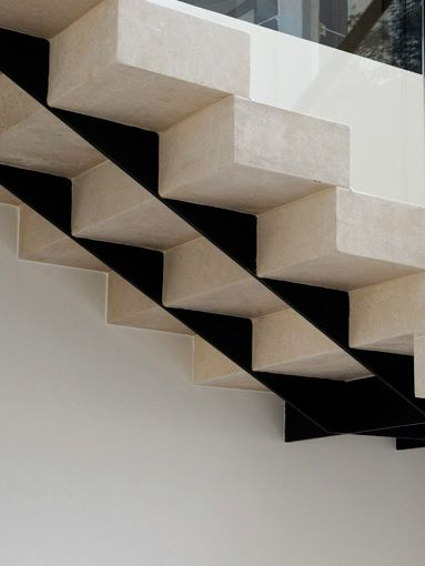 Raed Abillama Architects | C & M Apartment, 2010 | stair detail
