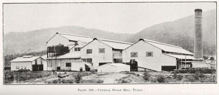 Tully Sugar Mill 1940s