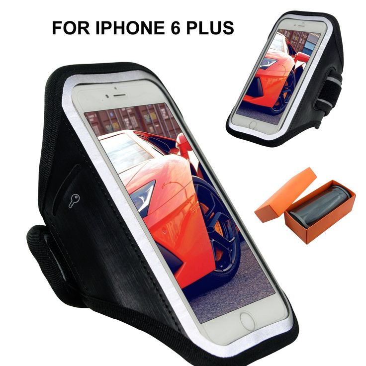 FANTASTIC Black - iphone 7 Plus iphone 6/6s Plus Armbands Case - Compatible For 5.5 Inch Phone - As Samsung Galaxy S6 Edge S7 Edge Nexus 5X 6P LG G3 Armbands Case- With Key Holder. ❤A-QUALITY MATERIAL & SWEAT Proof - This iPhone 6/6s Plus Armband Case For iPhone 6 Plus is Made Of Highest Quality Soft Neoprene,Flexible, Twistable, And Bendable And Extra Material To Keep Your Sweat Away To Penetrated The Material To The Inside Of Screen. ❤ULTRA LIGHT WEIGHT & TOUCH SCREEN COMPATIBLE - The...