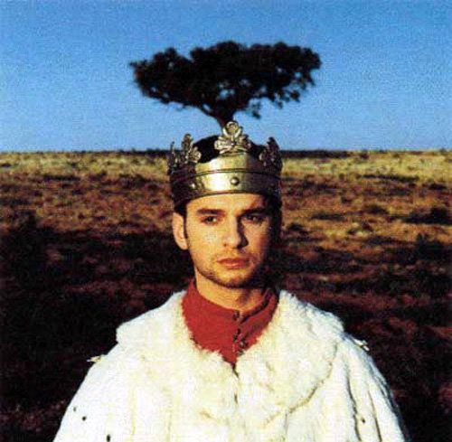 """Dave Gahan.  Depeche Mode """"Enjoy The Silence"""" directed by Anton Corbijn.  1990."""