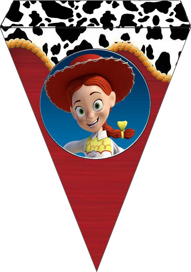 Jessie, Toy Story: Free Printable Kit.