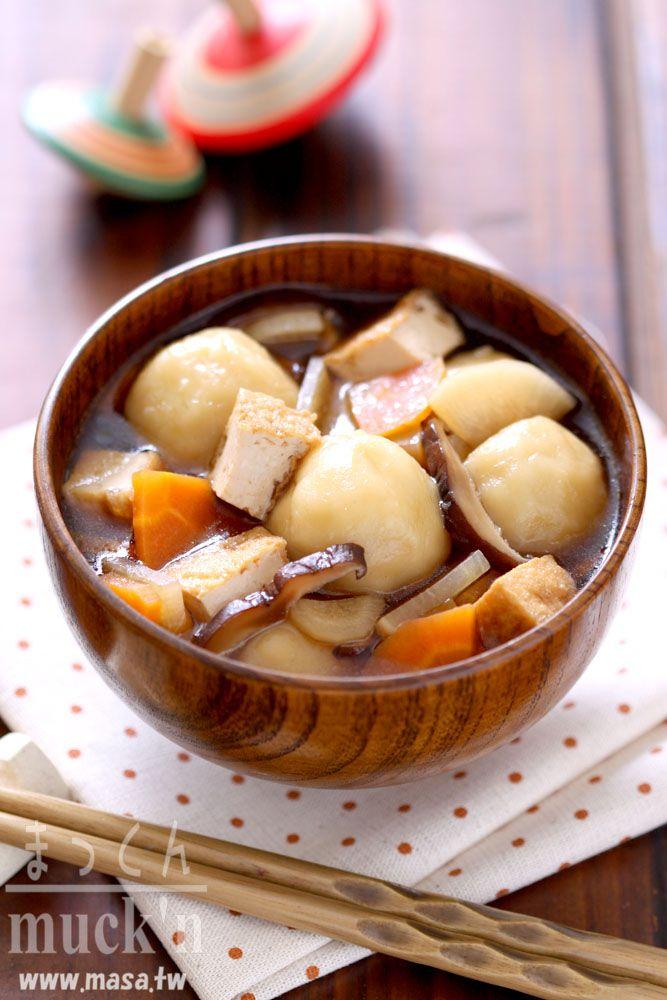 日本料理-小海女愛食! まめぶMamebu核桃丸子湯
